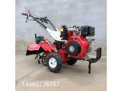 除草开沟手持式旋耕机的工作原理