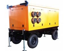 高效节水灌溉移动式泵车