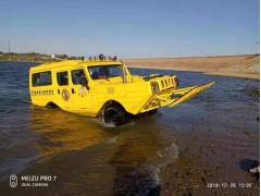 河北五星救援两栖车现代应急抢险和