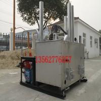 液压栓钢热熔釜马路标线熔料设备