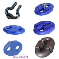 生产22*86锯齿连接环 扁平接链环 矿用圆环链开口式连接环