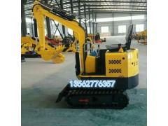 新上市微型挖掘机15型履带挖坑机