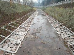 铰接式生态护坡-平铺式生态框-连锁