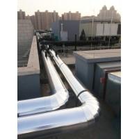 国标铝箔岩棉管蒸汽管道保温承包