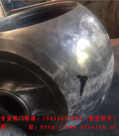 9-球阀阀球受损严重