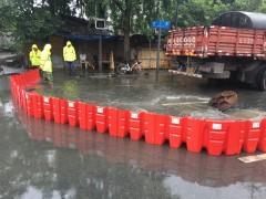 ABS塑料挡水板  红色防汛挡水板  L