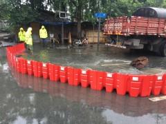 塑料红色防洪板 50公分的红色塑料防