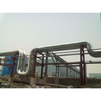 锅炉硅酸铝岩棉保温工程 白铁彩