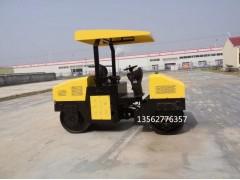 双钢轮3吨压路机小型沥青地面压实机