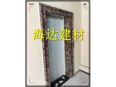 四川贵州生产金啡电梯石塑门套线的