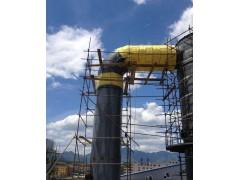 炼钢厂设备硅酸铝岩棉板保温工程彩