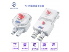 BDZ52-225A380V控制电机防爆断路器