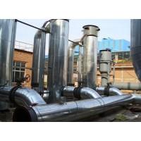 设备罐体硅酸铝管保温施工不锈钢